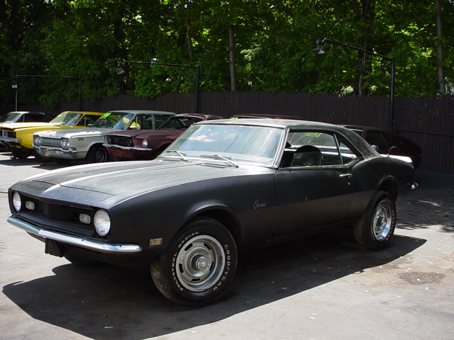 1967 Chevy Camaro 327 Engine Runs Good Interior Rebuilt Transmission New Suspension Brakes Rally Rims Am Fm Cd Stereo All And